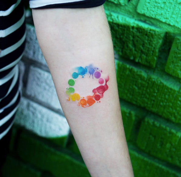 40 Wonderful Watercolor Tattoos For Women Tattooblend