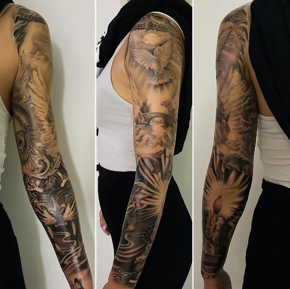 40+ Attractive Sleeve Tattoos For Women Tattooblend