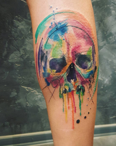 coolest skull tattoos 'll