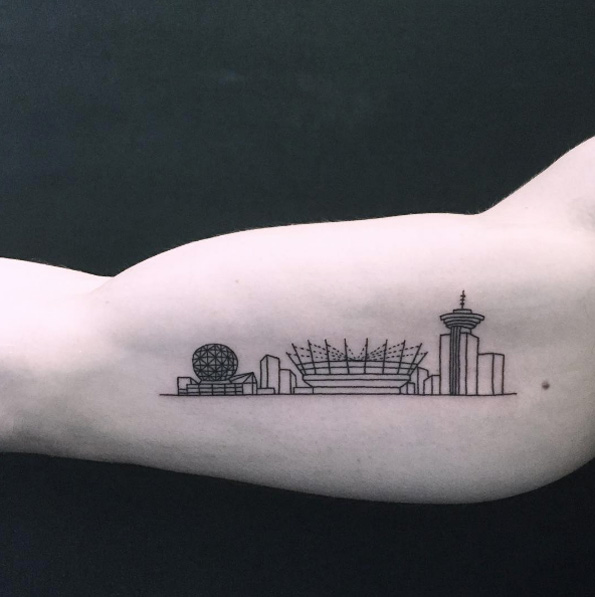 25 Cityscape Tattoos Of The Worlds Most Beautiful