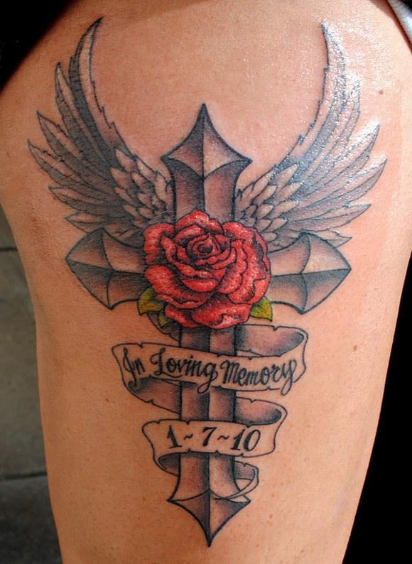 Tattoos For Loved Ones : tattoos, loved, Memorial, Tattoos, Designs, Memory, Loved, [2021]
