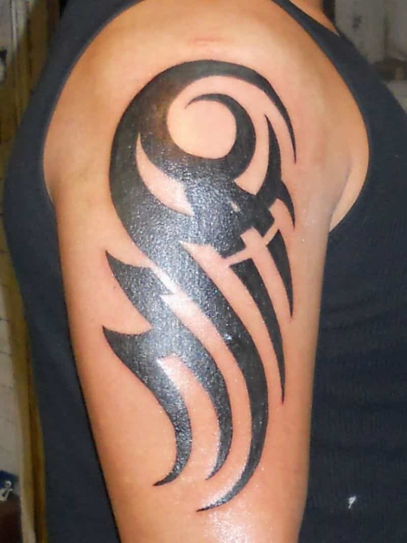 Arm Tribal Tattoos : tribal, tattoos, Awesome, Tribal, Sleeve, Tattoos