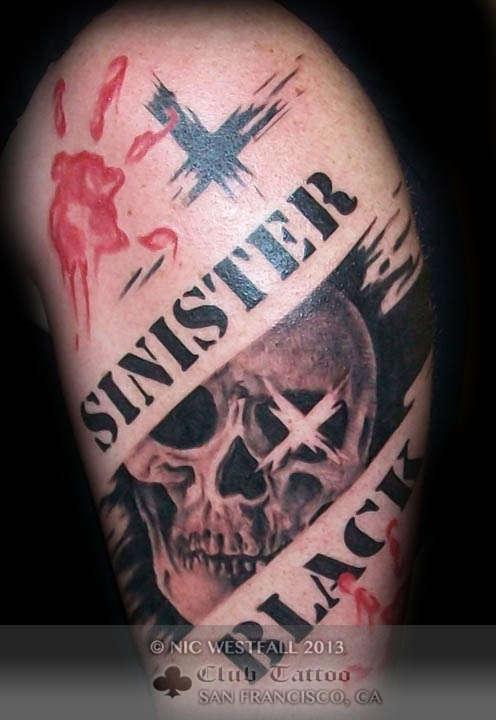 Block Lettering Tattoos : block, lettering, tattoos, Latest, Block, Letters, Tattoos