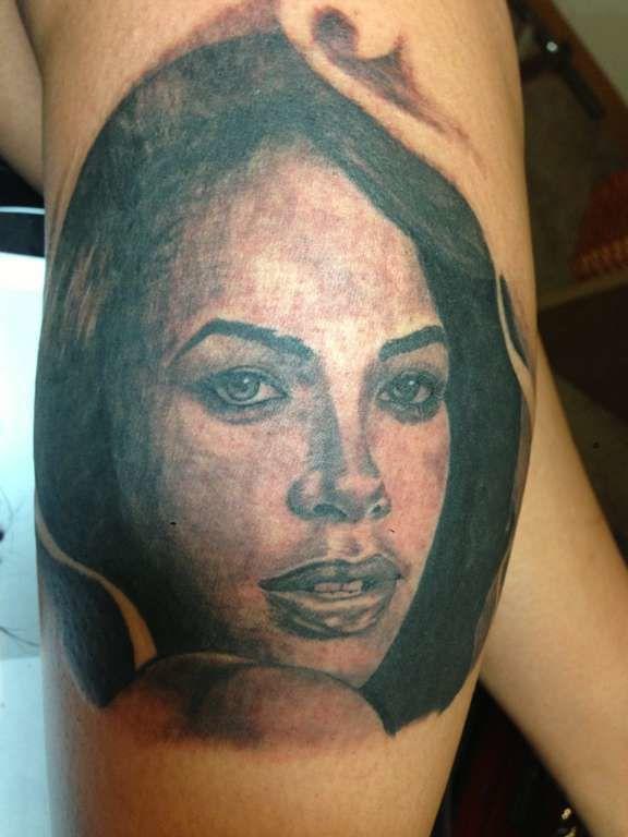 Latest Aaliyah Tattoos Find Aaliyah Tattoos