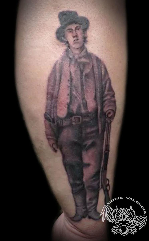 Billy The Kid Tattoo : billy, tattoo, Latest, Billy, Tattoos