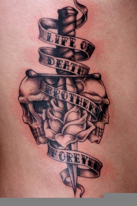 Tattoo For Dead Brother : tattoo, brother, Pengetahuan, Tattoos, Brother