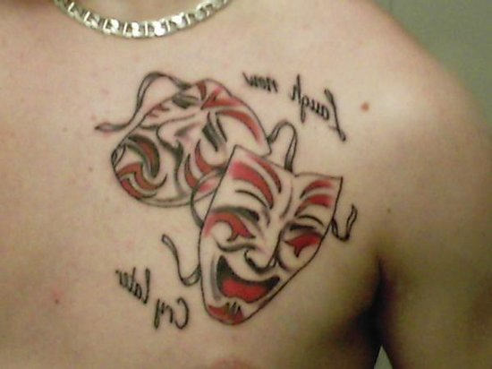 Later Tattoo Meaning Now Laugh Cry