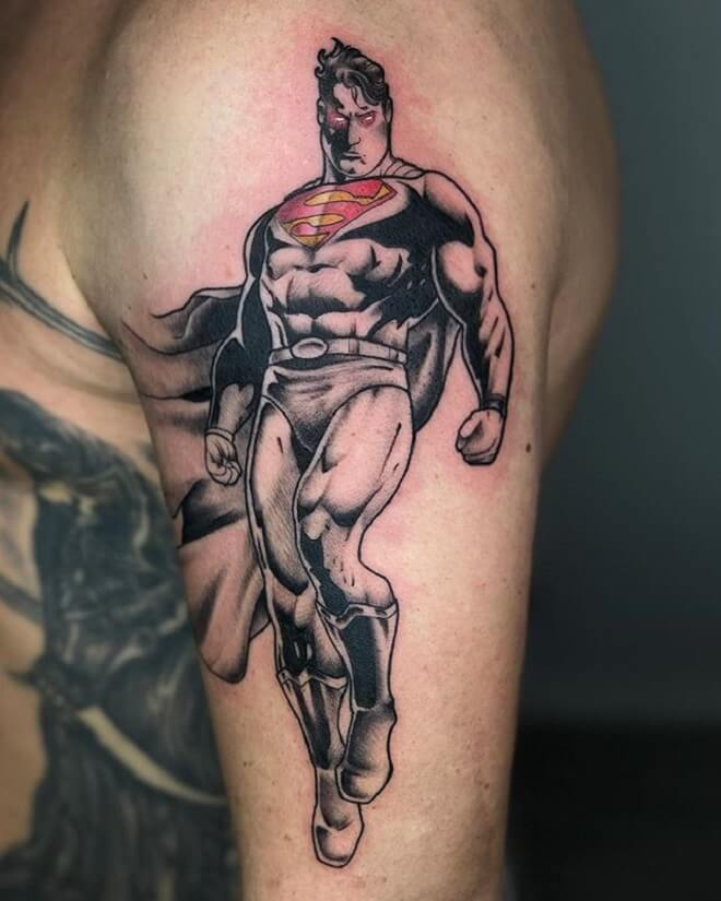 What Does Superman Tattoo Mean? | Represent Symbolism