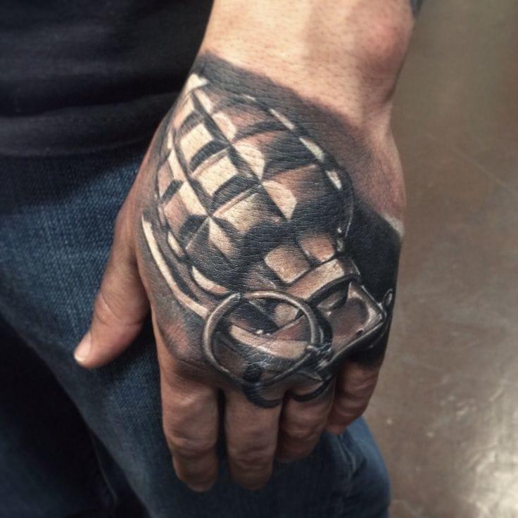 8 Amazing Grenade Tattoos  Tattoodo