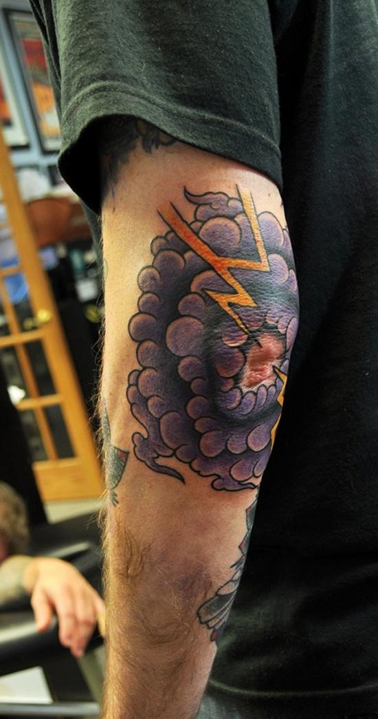 Elbow Tattoos For Men : elbow, tattoos, Elbow, Tattoos, Designs