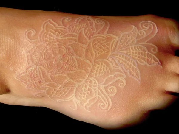15+ Amazing White Ink Tattoo Ideas