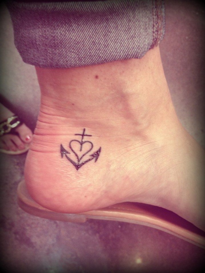 Anchor heart tattoo meaning