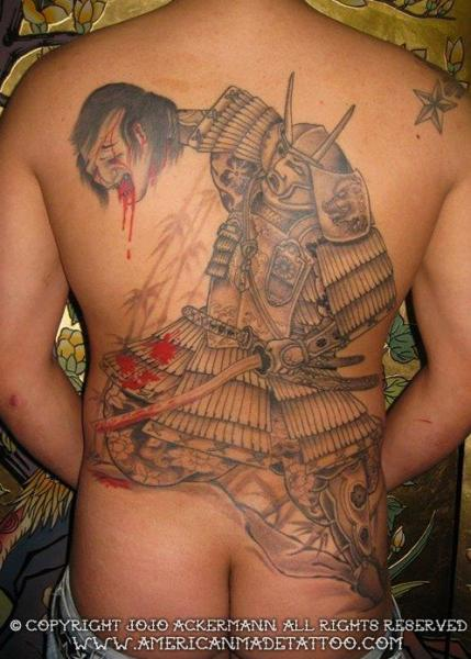 American Made Tattoo : american, tattoo, Japanese, Samurai, Tattoo, American