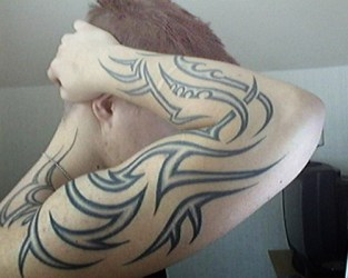tribal forearm tattoos tattoo arm designs unique upper sleeve japanese ink right masculine source