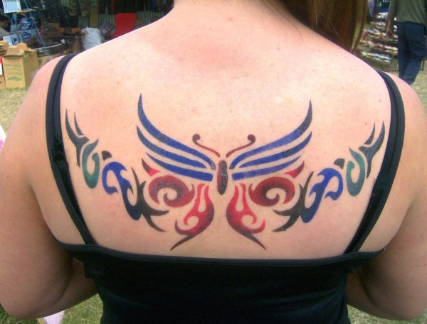 airbrush tattoos marketing tool