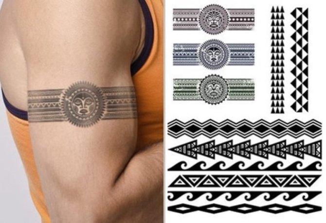 Tribal Armband Tattoos For Guys
