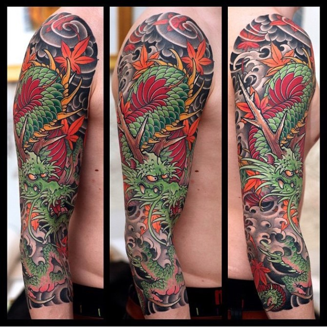 Japanese Tattoo Sleeve Designs