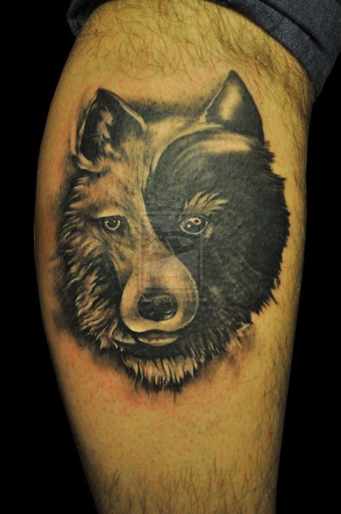Good Wolf Bad Wolf Tattoo : tattoo, Tattoos, Tattoofanblog