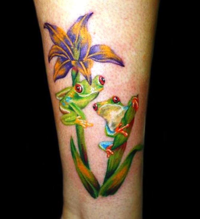 20 Lily Pad Girl W Tattoos Ideas And Designs