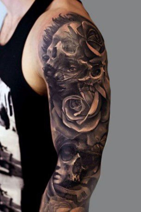ideas flower tattoo sleeve
