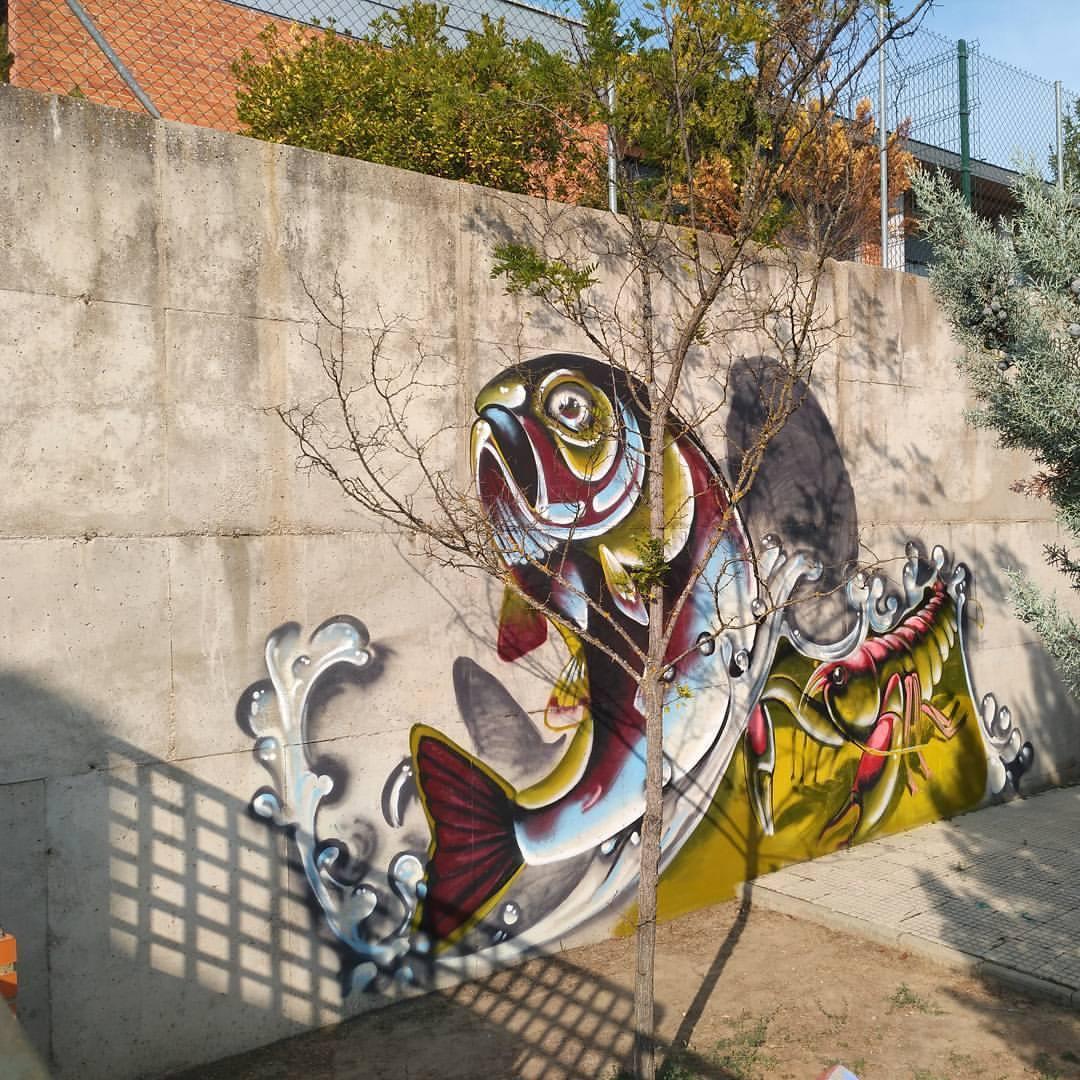 bibloiteca herrera pisuerga graffiti palencia