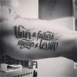 letras tatuaje lettering tatuajes palencia frase motivadora
