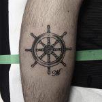 Ship S Wheel Tattoo Tattoogrid Net
