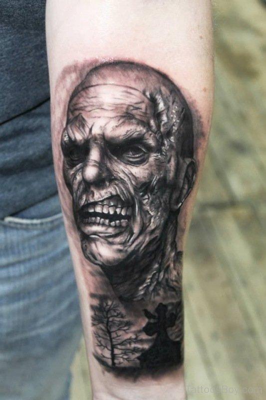 zombie tattoos - tattoo ideas