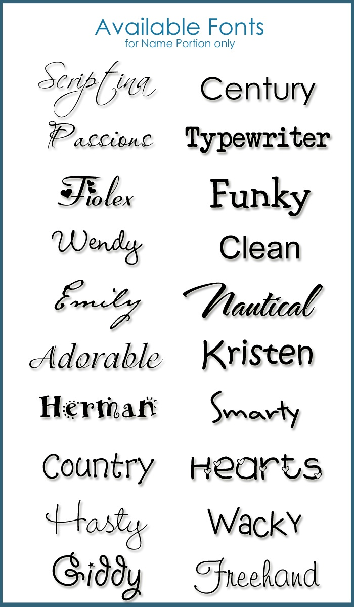 Best Fonts For Tattoos : fonts, tattoos, Tattoo, Fonts, Design