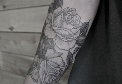 Inner Arm Rose Tattoo Design For Women Tattoomagz