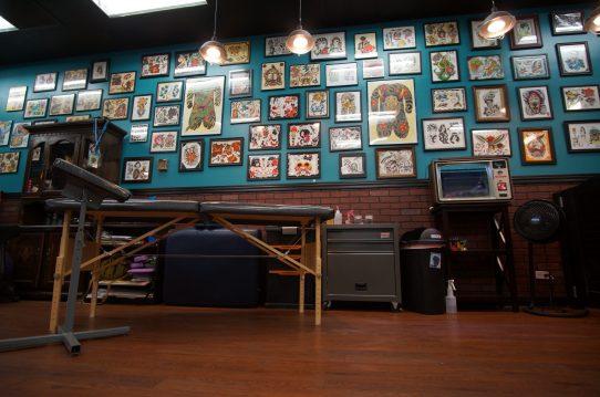 Inside a successful tattoo shop