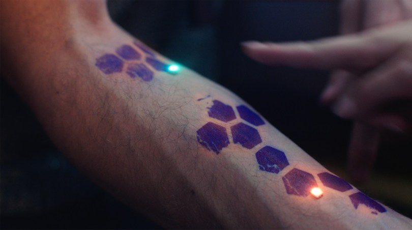 electronic tattoo