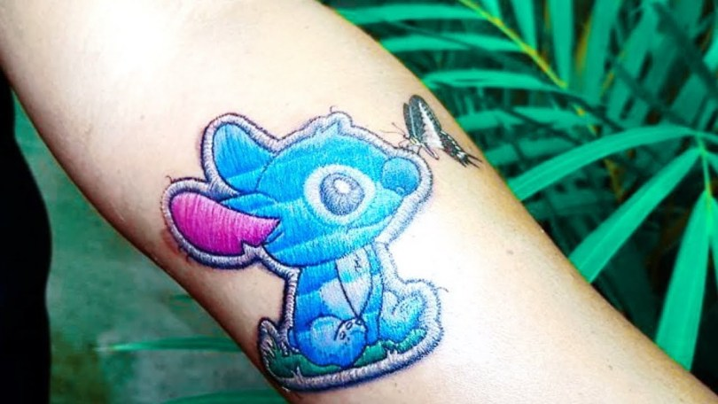 stitch embroidery tattoo