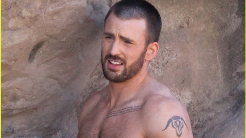 chris evans tattoo avengers