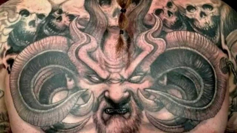 scary tattoo top image