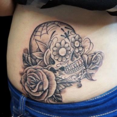 キャンディスカル バラ skull rose