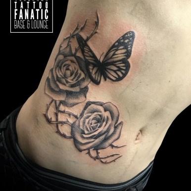 薔薇 蝶々 roses butterfly