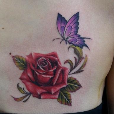 薔薇 蝶々 rose butterfly
