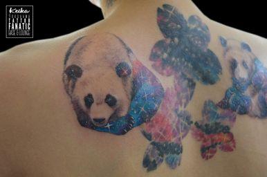 パンダ 宇宙 panda cosmo galaxy
