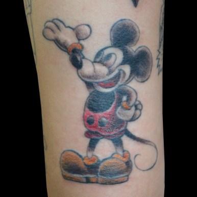 ミッキー トラッド風 mickey mouse