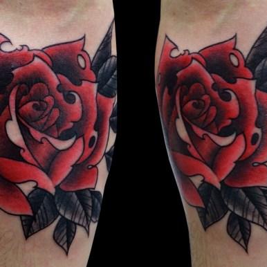 rose バラ