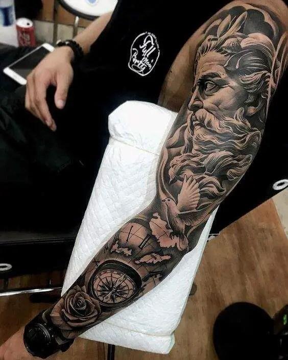 148 Ideas Ancient Greek Gods Tattoos Tattoolicom