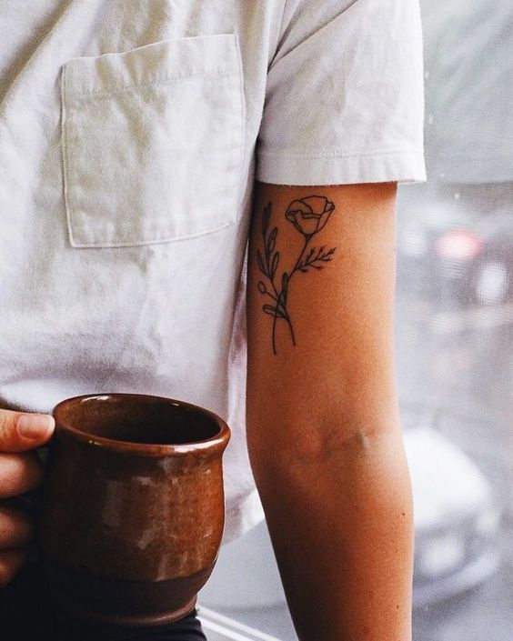 Simple Outer Bicep Tattoos : simple, outer, bicep, tattoos, Bicep, Tattoos, Women, Ideas, Pictures, Tattooli.com