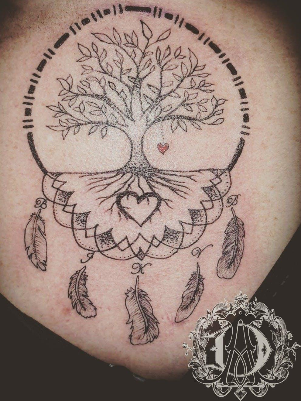 darwin tree of life tattoo