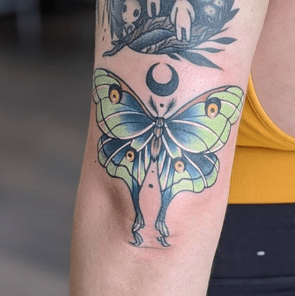 moth tattoo designs