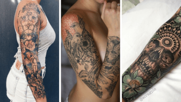 Tendance Tattoo : 50 Top Tatouage bras tendance de la saison 2019 et 2020