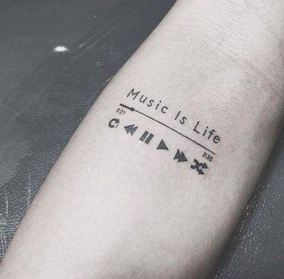 Petit tatouage homme