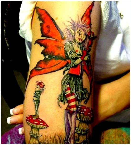 dessins de tatouage de fée (34)
