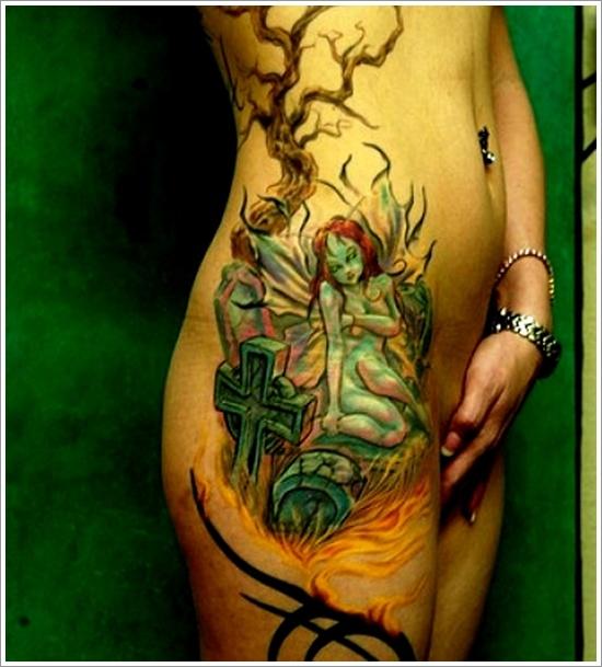dessins de tatouage de fée (21)