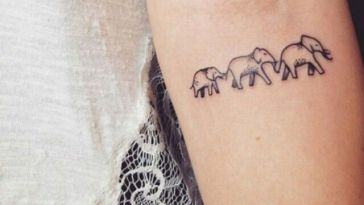 , Femmes : 99 modèles de tatouage d'éléphant puissants (avec un sens)  (En images)